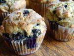 Blueberry Pound Cake Muffins